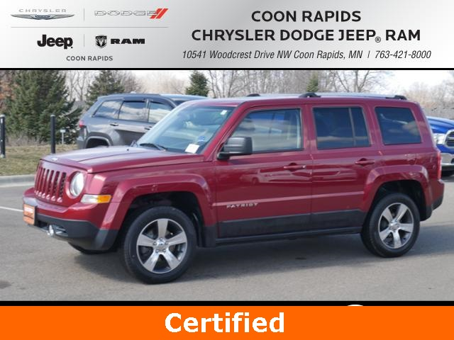 Certified Pre Owned 2016 Jeep Patriot High Alude