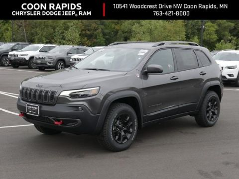 New 2020 Jeep Cherokee Trailhawk