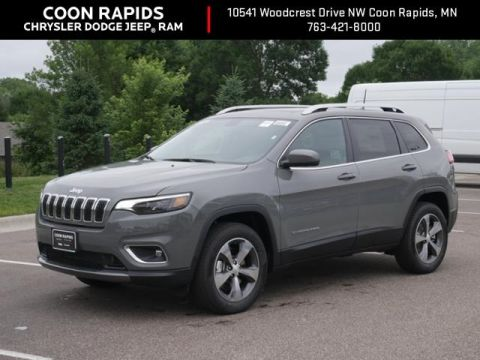 New 2019 Jeep Cherokee Limited With Navigation